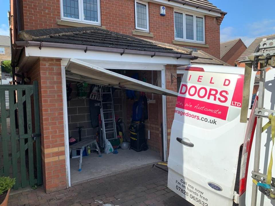 up and over garage door repairs Barnsley
