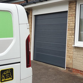 New Sectional Garage Doors Barnsley